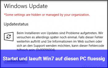 Startet und läuft Win7 auf diesen PC flüssig?