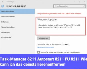 Task-Manager – Autostart – FU – Wie kann ich das deinstallieren/entfernen?