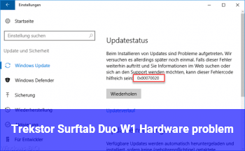 Trekstor Surftab Duo W1 Hardware problem