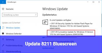 Update – Bluescreen
