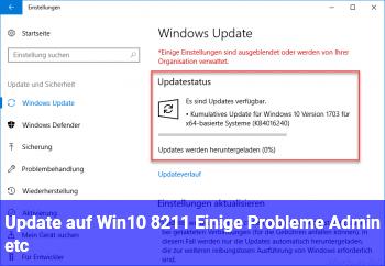 Update auf Win10 – Einige Probleme (Admin etc)