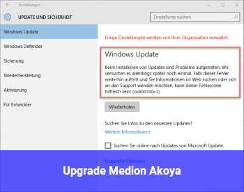 Upgrade Medion Akoya
