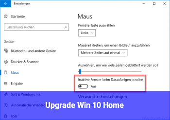 Upgrade Win 10 Home