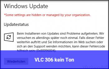 VLC 3.0.6 kein Ton