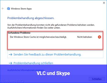 VLC und Skype