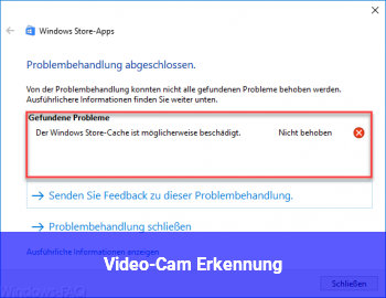 Video-Cam Erkennung