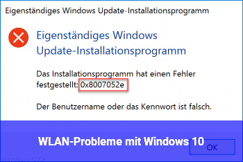 WLAN-Probleme mit Windows 10