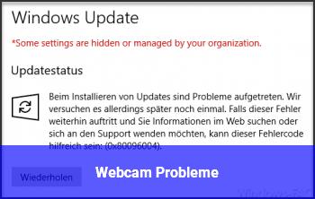 Webcam Probleme