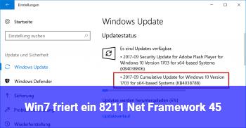 Win7 friert ein – .Net Framework 4.5