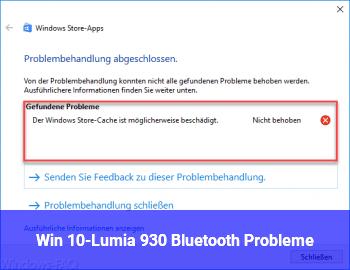 Win 10-Lumia 930 Bluetooth Probleme