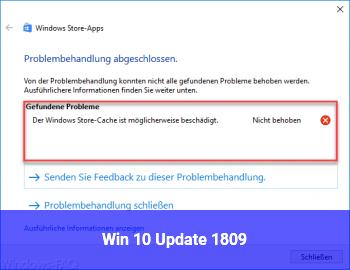Win 10 Update 1809