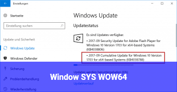Window SYS WOW64