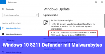 Windows 10 – Defender mit Malwarebytes