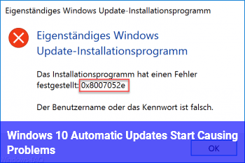 Windows 10 Automatic Updates Start Causing Problems