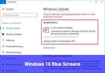 Windows 10 Blue Screens