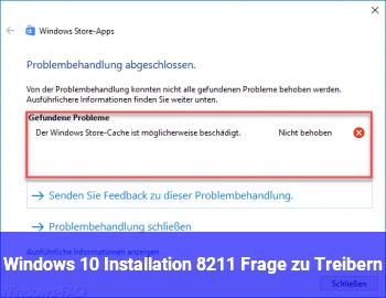 Windows 10 Installation – Frage zu Treibern