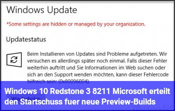 Windows 10 Redstone 3 – Microsoft erteilt den Startschuss für neue Preview-Builds