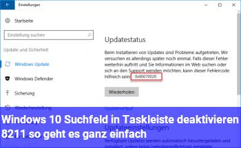 Windows 10: Suchfeld in Taskleiste deaktivieren – so geht es ganz einfach