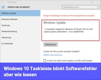 Windows 10 Blinkt