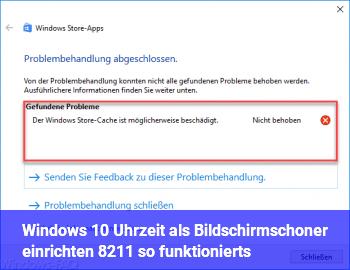Windows 10: Uhrzeit als Bildschirmschoner einrichten – so funktioniert's