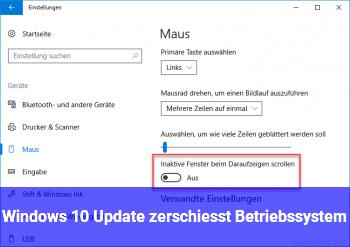Windows 10 Update zerschießt Betriebssystem