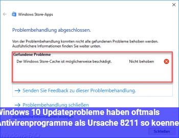 Windows 10: Updateprobleme haben oftmals Antivirenprogramme als Ursache – so können s