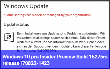 Windows 10 pro Insider Preview Build 16275.rs_release.170822-1423