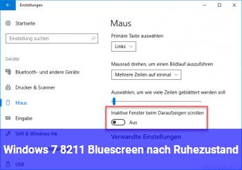 Windows 7 – Bluescreen nach Ruhezustand