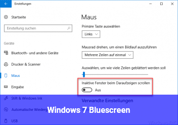 Windows 7 Bluescreen!