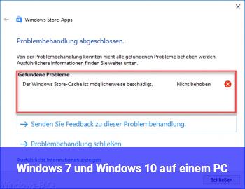 Windows 7 und Windows 10 auf einem PC