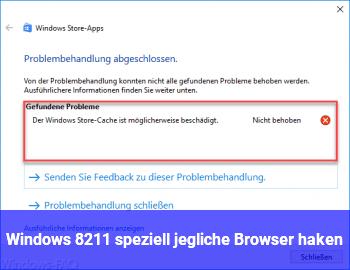 Windows – (speziell jegliche Browser) haken