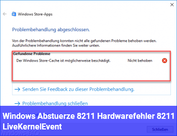 Windows Abstürze – Hardwarefehler – LiveKernelEvent