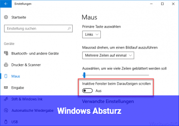 Windows Absturz
