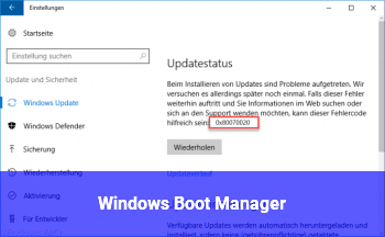 Windows Boot Manager