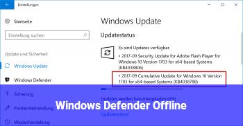 Windows Defender Offline