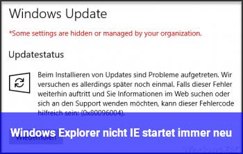 Windows 10 Internet Explorer Startet Nicht