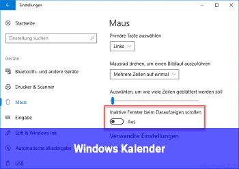 Windows Kalender