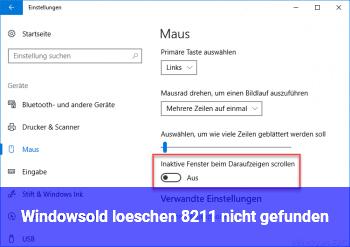 Windows.old löschen – nicht gefunden