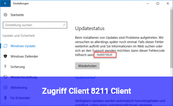 Zugriff Client – Client