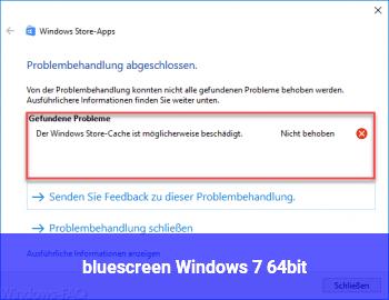 bluescreen Windows 7 64bit