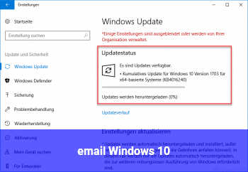 email Windows 10