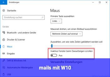 mails mit W10