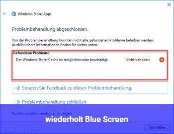 wiederholt Blue Screen