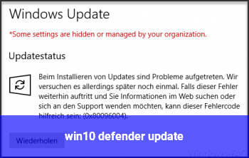 win10 defender update